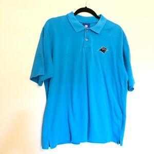 NFL Carolina Panthers Men's Polo Shirt Size Medium